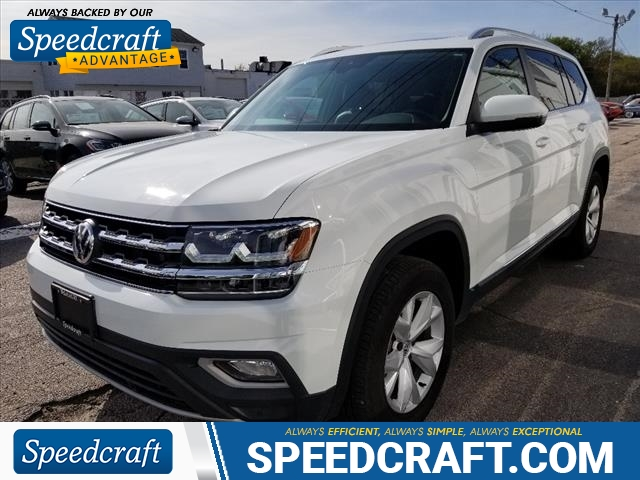 Pre-Owned 2018 Volkswagen Atlas V6 SEL 4Motion