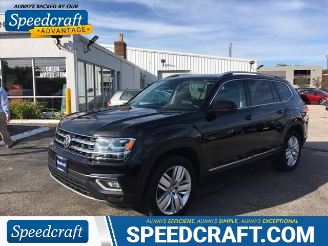 Pre-Owned 2018 Volkswagen Atlas V6 SEL Premium 4Motion
