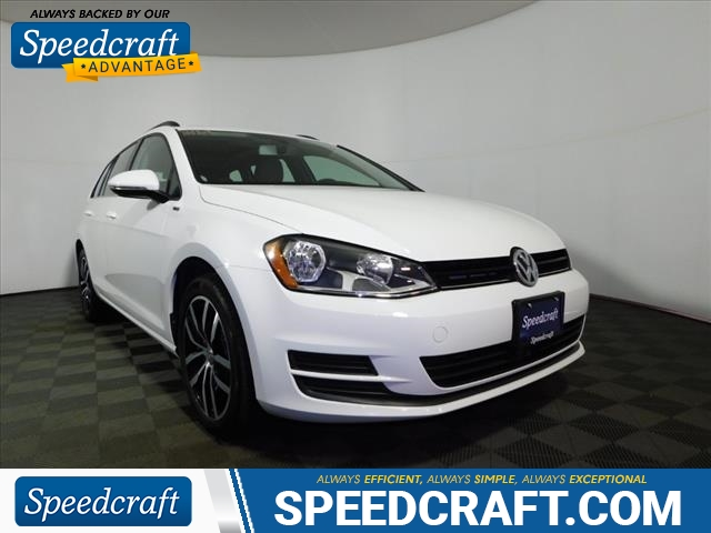 Pre-Owned 2016 Volkswagen Golf SportWagen TSI Limited Edition PZEV