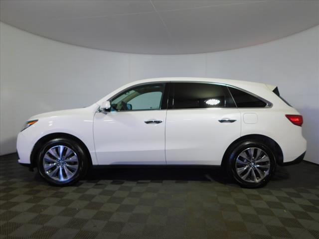 Certified Pre Owned 2016 Acura Mdx Sh Awd With Technology And Entertainment Packages