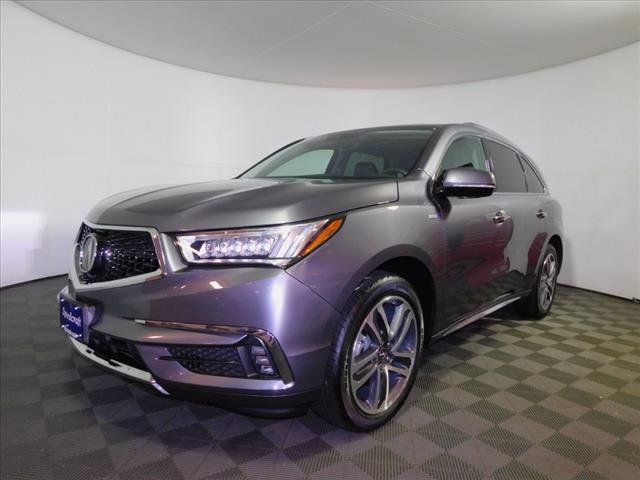 Pre Owned 2018 Acura Mdx Sh Awd Sport Hybrid W Advance