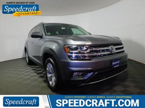Pre-Owned 2018 Volkswagen Atlas V6 SE 4Motion