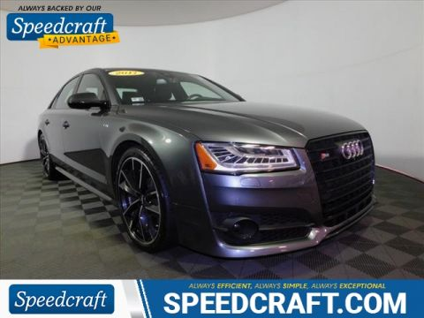 Pre-Owned 2017 Audi S8 plus 4.0T quattro